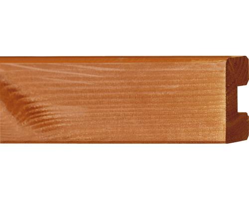 Plintă nut, 4x6,8x100 cm, brad Douglas