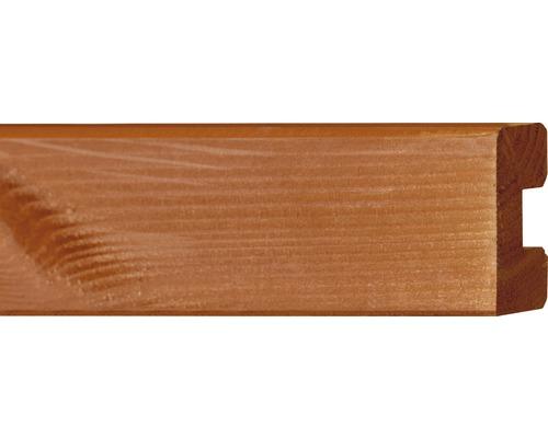 Plinta nut, 4x6,8 x200 cm, brad Douglas
