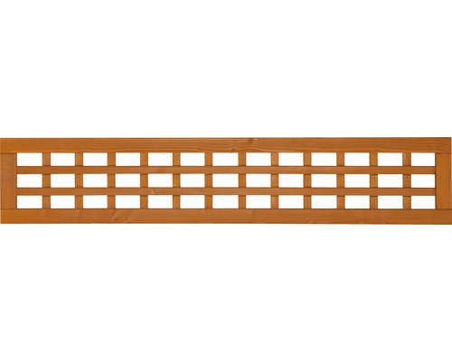 Ornament grilaj pentru scandura, 196x4x38 cm