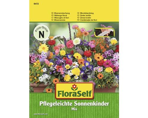 Mix semințe pentru flori FloraSelf 'Copiii soarelui, îngrijire ușoară' bandă de semințe sezoniere