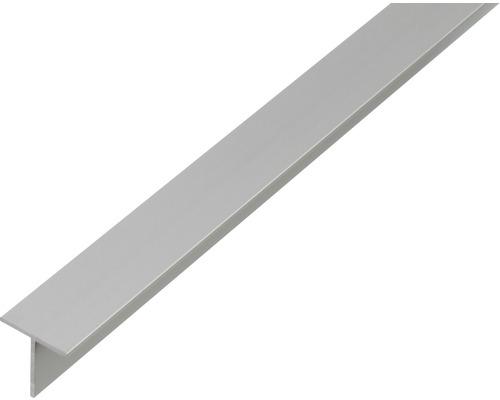 Profil T aluminiu 15x15x1,5mm 2m