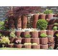 Jardiniera Semmelrock din beton rosie 30x20 cm