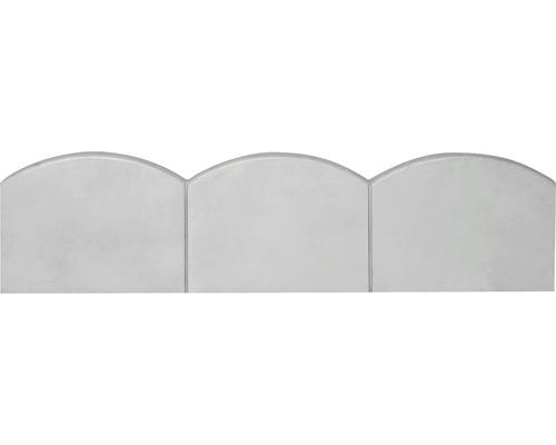 Bordura Semmelrock ondulata gri 100x25x5 cm
