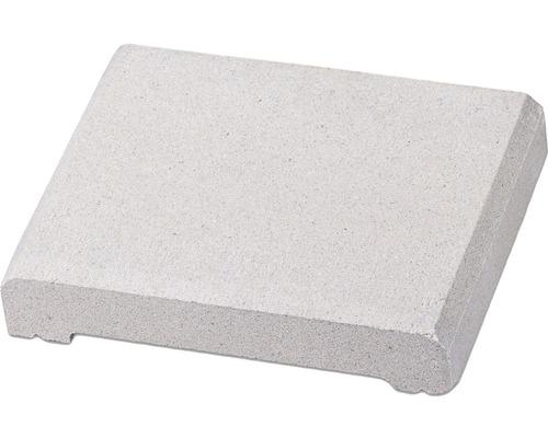 Capac de gard alb crem 22,5x28x5 cm