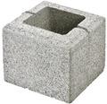 Bloc de zidarie Semmelrock Rivago pentru gard 20x20x16 cm gri