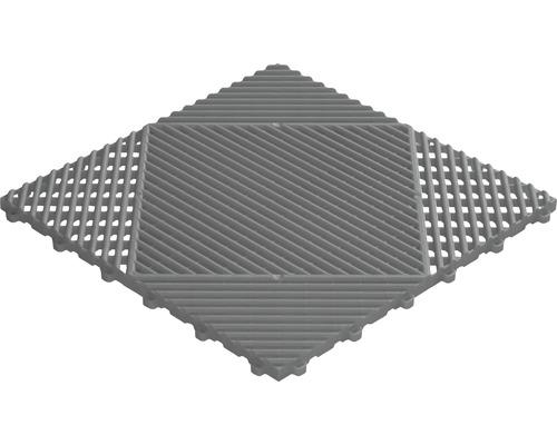 Dala din plastic, sistem click, 40 x 40 cm, gri