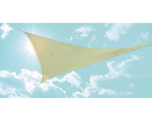 Copertina triunghiulara bej 360x360x360 cm