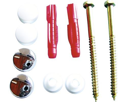 Set pentru montaj vas WC Tox Toilet Ø8mm, 2 piese