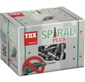 Dibluri metalice autoforante fără șurub Tox Spiral Plus, 50 bucăți, pentru gipscarton