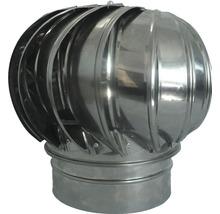 Capac terminal rotativ simplu perete din inox Ø150 mm