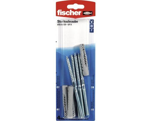 Diblu universal Fischer Ø8x120 mm pentru fixat obiecte sanitare