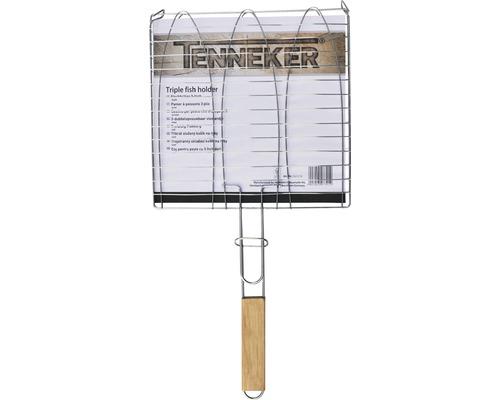 Gratar Tenneker® pentru peste, 61x28 cm, otel inoxidabil