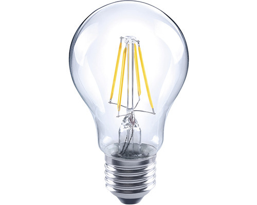 Bec LED Flair E27 6W 810 lumeni, glob clar A60, lumină caldă