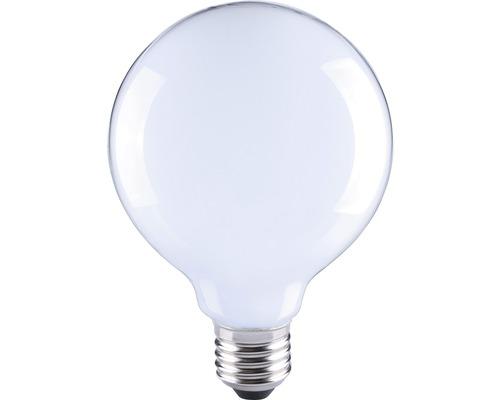 Bec LED Flair E27 6W 730 lumeni, glob mat G95, lumina calda