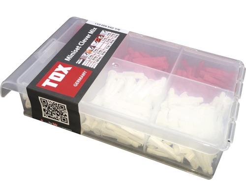 Set dibluri fără șurub Tox Miniset Clever Mix, 215 piese