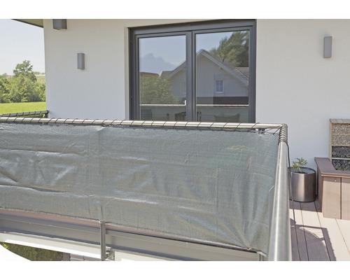 Protectie vizuala gradina 500 x 100 cm, verde