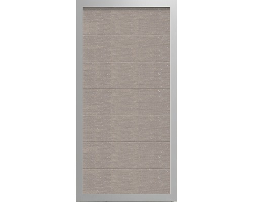 Element gard Novara WPC 90 x 180 cm, bej alb