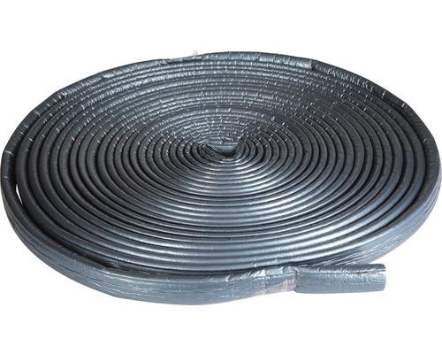 Tub izolatie cu folie de protectie pentru instalatii sanitare Tubolit S Plus, ∅ 15 mm, grosime 4 mm, colac 20 m