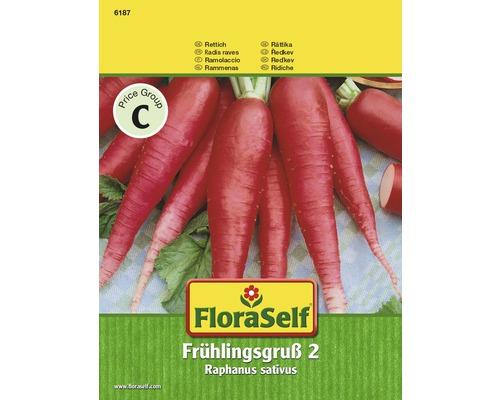 "FloraSelf seminte de ridiche ""Salutare primavara"""