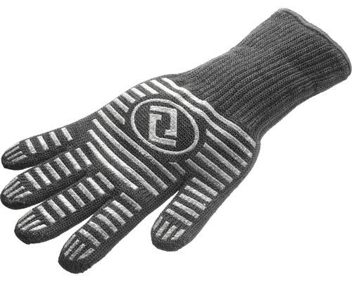 Manusa Tenneker® pentru gratar, cu strat de acoperire din silicon, neagra