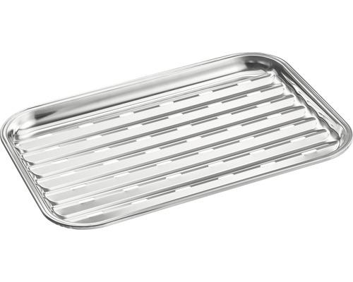 Tenneker® Tavita pentru gratar, 34x34x2 mm, otel inoxidabil