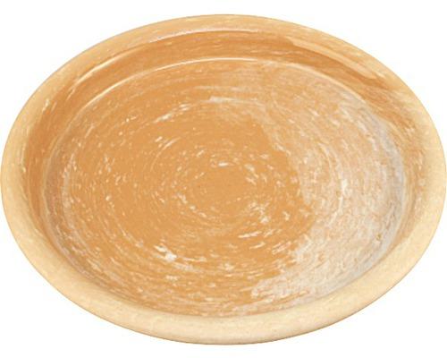 Farfurie ghiveci Spang, argila, Ø 20 cm, maro