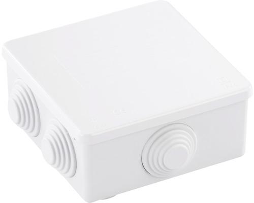 Doza aplicata pentru legaturi Solera 100x100 mm IP55 alba