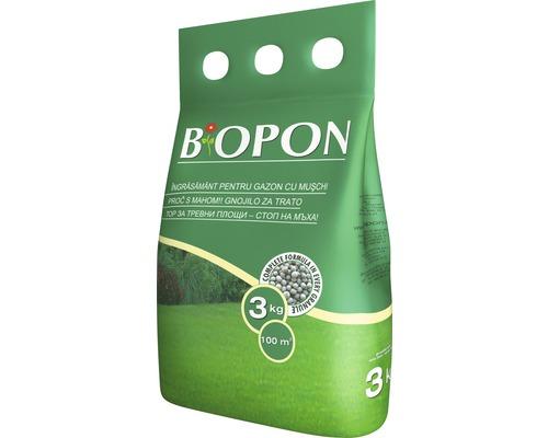 Ingrasamant Biopon pentru gazon contra muschi, 1 kg