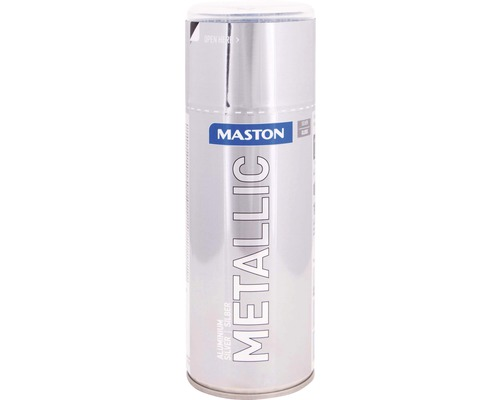 Lac acrilic spray Maston argintiu metalic 400 ml
