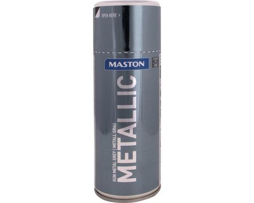 Lac acrilic spray Maston gri metalic 400 ml