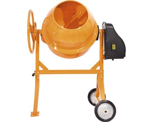 Betonieră capacitate cuvă 140 litri capacitate de lucru 120 litri 550 W