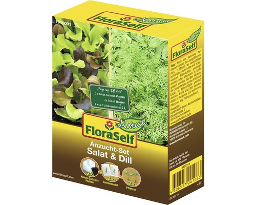 FloraSelf Set semanare salata/marar
