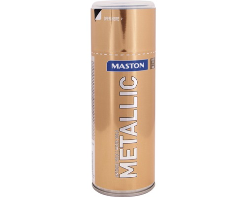 Lac acrilic spray Maston auriu antic metalic 400 ml