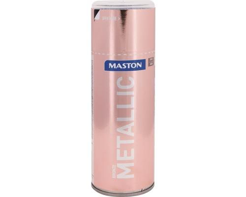 Lac acrilic spray Maston bronz metalic 400 ml