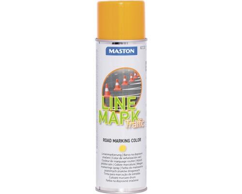 Spray marcaj rutier Maston galben 585 ml