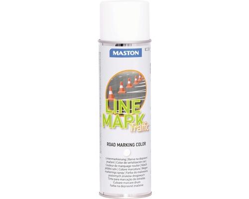Spray marcaj rutier Maston alb 585 ml