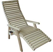 Scaun cu încălzire Sanotechnik Confort pentru cabine de saună cu infraroșu 154x75x104 cm