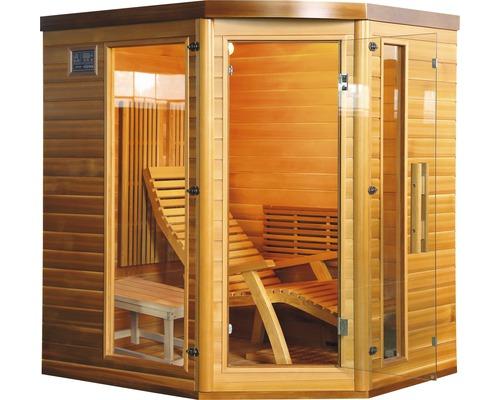 Sauna cu infrarosu Sanotechnik Optimal, 172x136x190 cm, 1950 W, pentru 2 persoane