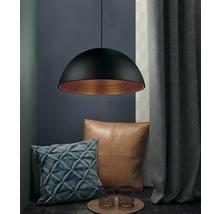 Pendul Nashira E27 max. 1x42W, culoare negru/auriu