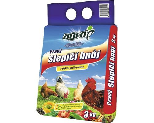 Ingrasamant organic din balegar de gaina, 3 kg