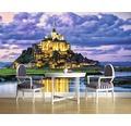 Fototapet vlies Mont Saint-Michel 416x254 cm