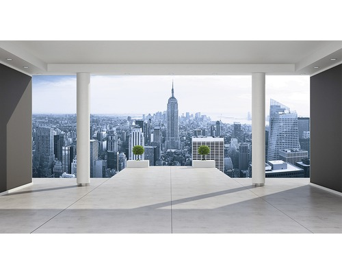 Fototapet hartie New York City Skyline 368x254 cm