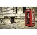 Fototapet hartie 1910 London cabina telefonica 254x184 cm