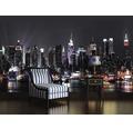 Fototapet vlies Manhattan Night 416x254 cm