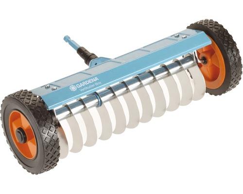 Aerator manual vertical cu roti Gardena sistem Combi